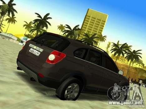 Chevrolet Captiva para visión interna GTA San Andreas
