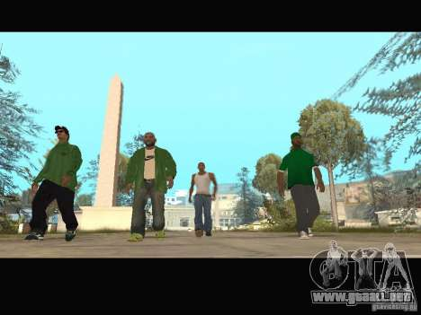 New Sweet, Smoke and Ryder v1.0 para GTA San Andreas décimo de pantalla