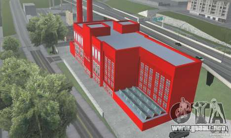 La fábrica de Coca-cola para GTA San Andreas