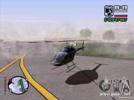 ENB Series v1.5 Realistic para GTA San Andreas tercera pantalla