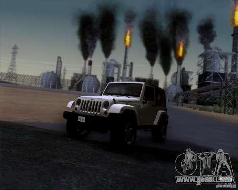Jeep Wrangler Rubicon para GTA San Andreas