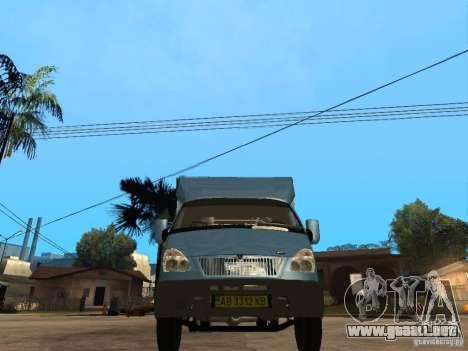Ruta de gacela para la visión correcta GTA San Andreas