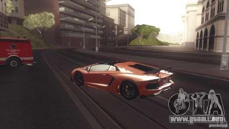 2013 Lamborghini Aventador LP700-4 Roadstar para la visión correcta GTA San Andreas