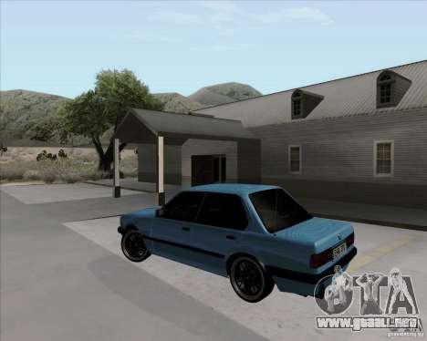 BMW M3 E30 323i street para GTA San Andreas left