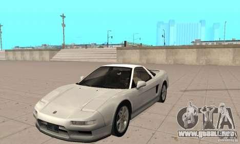 Acura NSX 1991 para GTA San Andreas