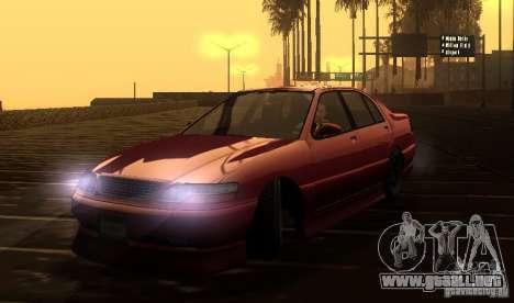 FEROCI VIP para GTA San Andreas vista hacia atrás