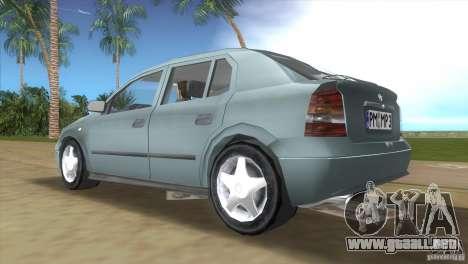 Opel Astra G para GTA Vice City visión correcta