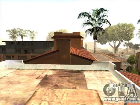 Mapa de Parkour y bmx para GTA San Andreas quinta pantalla