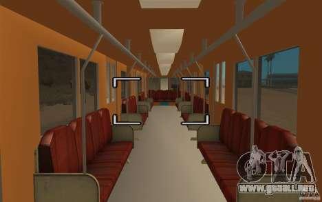 Metro type 81-717 para la visión correcta GTA San Andreas