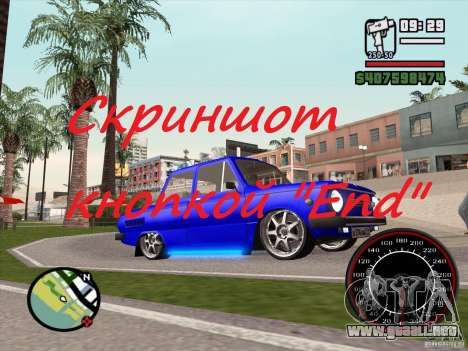Captura de pantalla para GTA San Andreas