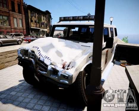 Russian NOOSE Patriot para GTA 4 visión correcta