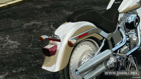 Harley Davidson Softail Fat Boy 2013 v1.0 para GTA 4 vista desde abajo