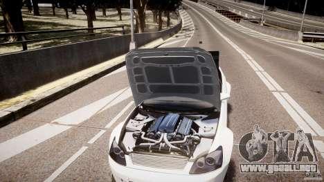 Sultan RS 3.0 para GTA 4 vista interior