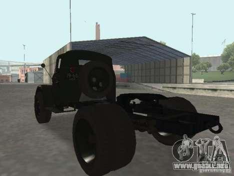 GAZ 51 p para GTA San Andreas left