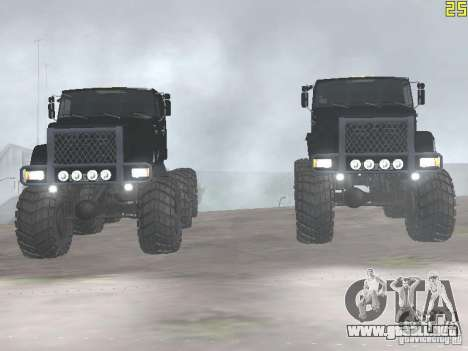 ZIL 497200 para la visión correcta GTA San Andreas