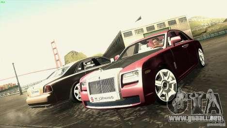 Rolls-Royce Ghost 2010 V1.0 para visión interna GTA San Andreas