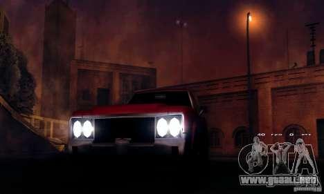 RAGE ENB para GTA San Andreas tercera pantalla