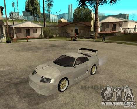 Toyota Supra M4K para GTA San Andreas