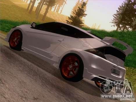 Honda CR-Z Mugen 2011 V2.0 para GTA San Andreas left