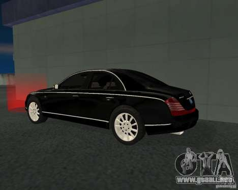 Maybach 57S para la visión correcta GTA San Andreas