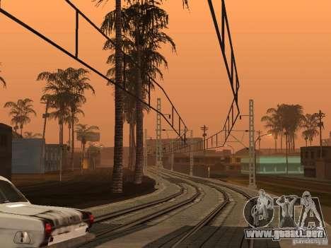 Línea ferroviaria de alta velocidad para GTA San Andreas segunda pantalla