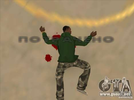 Saltar el Jet pack para GTA San Andreas quinta pantalla