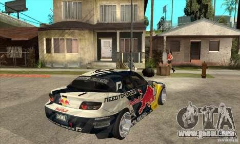 Mazda RX8 NFS Team Mad Mike para la visión correcta GTA San Andreas