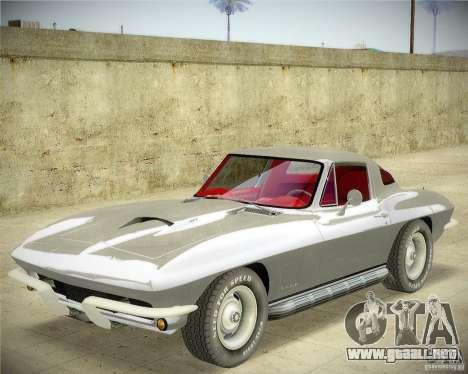 Chevrolet Corvette Stingray para GTA San Andreas