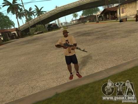 AK-74 del Arma II para GTA San Andreas segunda pantalla