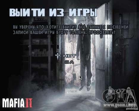 Pantallas de carga de Mafia 2 para GTA San Andreas segunda pantalla