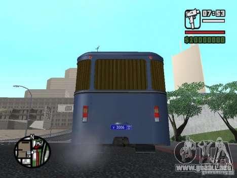 LIAZ 677Š para la visión correcta GTA San Andreas