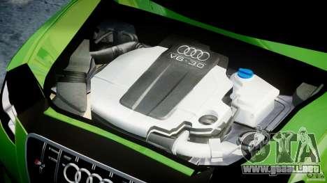 Audi S4 2010 v1.0 para GTA 4 visión correcta