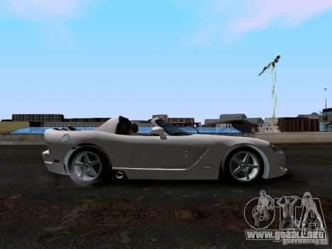 Dodge Viper SRT-10 Custom para visión interna GTA San Andreas