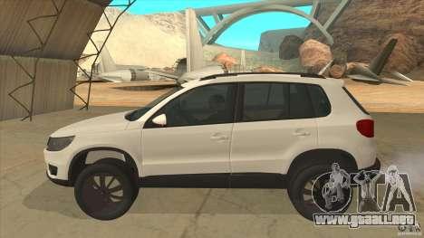 Volkswagen Tiguan 2012 v2.0 para GTA San Andreas left