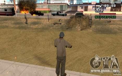 La amenaza de para GTA San Andreas