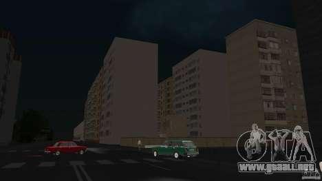 Arzamas beta 2 para GTA San Andreas sucesivamente de pantalla