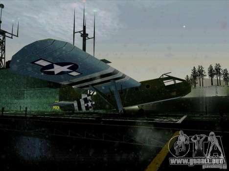 Aviones del juego tras enemigas las líneas 2 para la visión correcta GTA San Andreas