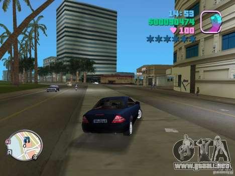Mercedes-Benz E350 para GTA Vice City vista lateral izquierdo