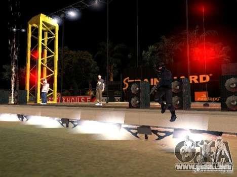 Concierto de la AK-47 para GTA San Andreas octavo de pantalla