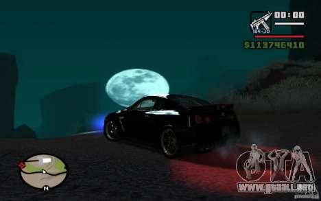 ENBSeries By Gasilovo para GTA San Andreas novena de pantalla