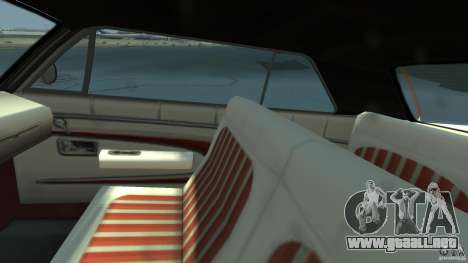 Voodoo Boat para GTA 4 vista hacia atrás