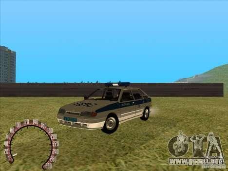 Policía rusa Ваз 2114 para GTA San Andreas