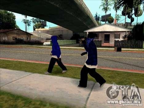 Crips Gang para GTA San Andreas quinta pantalla