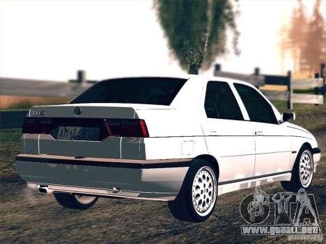 Alfa Romeo 155 1992 para la visión correcta GTA San Andreas