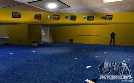 Nueva oficina de Bukmejkerskaâ para GTA San Andreas tercera pantalla