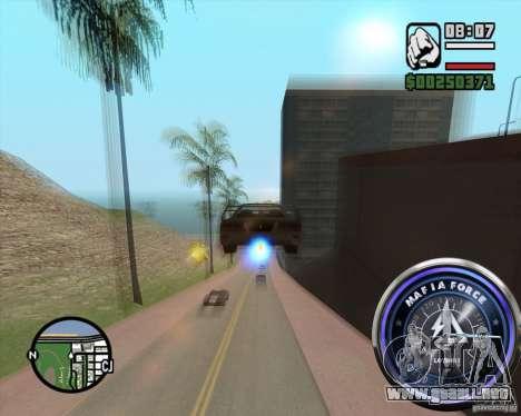 Velocímetro-2 para GTA San Andreas segunda pantalla