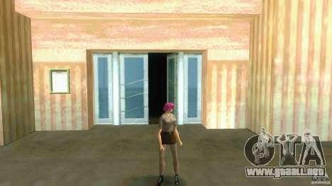 Girl Player mit 11skins para GTA Vice City novena de pantalla