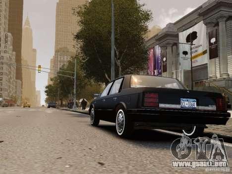 Oldsmobile Cutlass Ciera 1993 para GTA 4 visión correcta