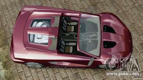 K-1 Attack Roadster v2.0 para GTA 4 visión correcta
