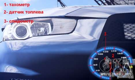 Fuel mod v3.0.0 (BETA) para GTA 4 adelante de pantalla